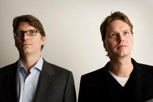Niklas Zennström y Janus Friis. Los creadores de Skype.